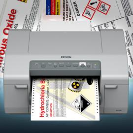 Midrange-Farbetikettendrucker von Epson