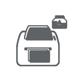Inkjet-Etikettendrucker als Icon