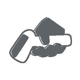 Mehrzweck-Handscanner als Icon dargestellt