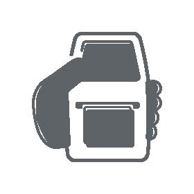 Mobiler Etikettendrucker als Icon