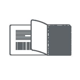 VOID-Sicherheitsetikett von Mediaform als Skizze