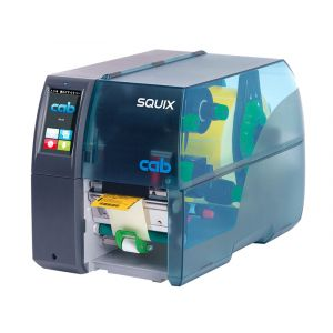 cab SQUIX 4 Drucker mit Spender 600 dpi Thermotransfer